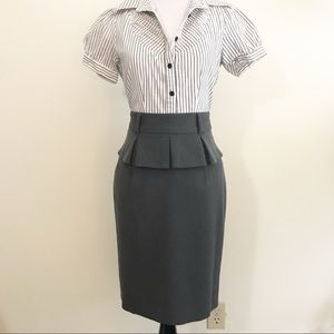 [Grace Elements| Ny Collection] Peplum skirt